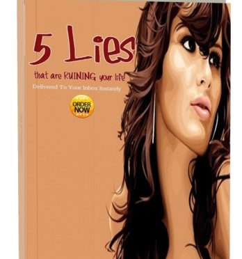 New eCourse- 5 Lies That Are Ruining Your Life